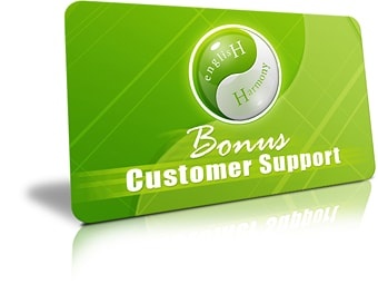 English Harmony System Customer Support