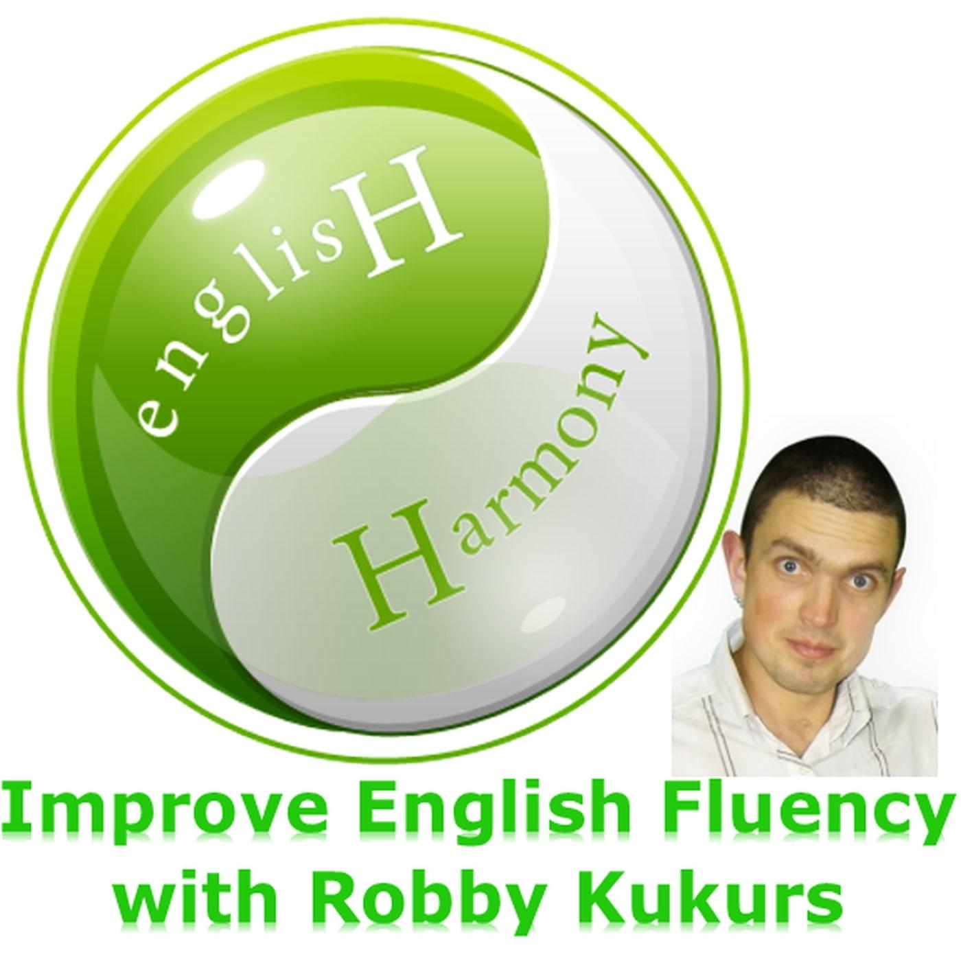 English Harmony Podcast: Improve English Fluency   Improve Spoken English   Learn English