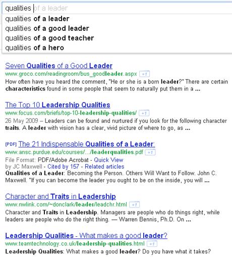 Using Google to Improve English
