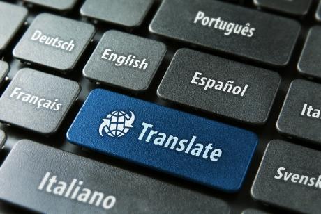 Translating from English to native language