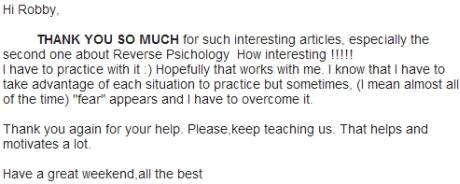 English Harmony blog feedback