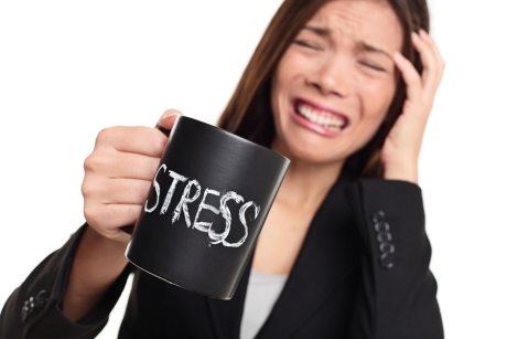 English fluency and stress