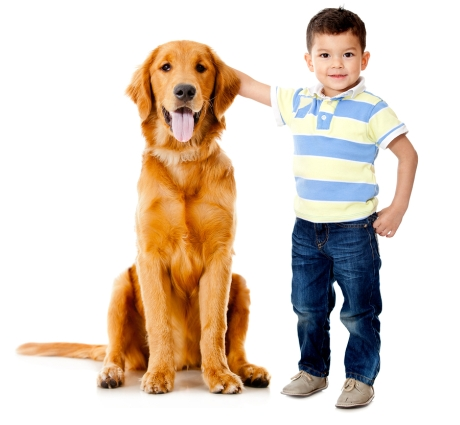 Small children, pets and the English language
