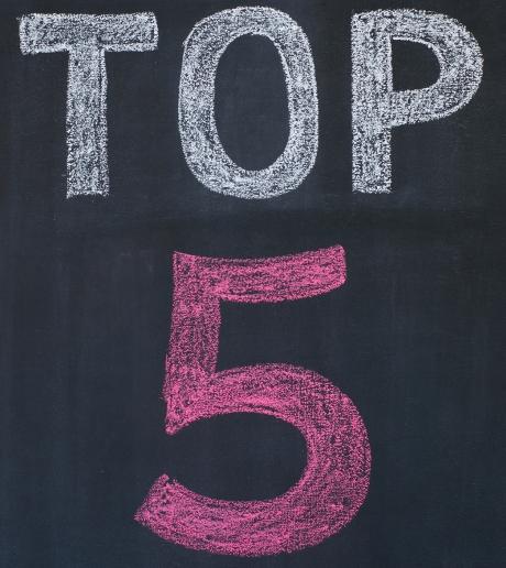 Top 5 trendy English words 2013