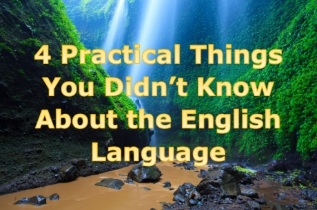 Things you didn't know about English