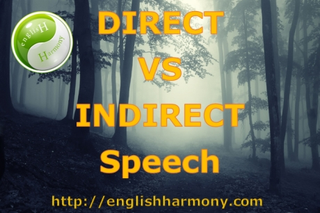 Direct and indirect English speech