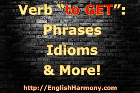 English verb to get