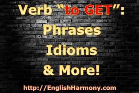 English verb to get