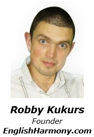 Robby Kukurs - Founder of English Harmony
