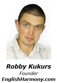 Robby Kukurs - Founder of English Harmony