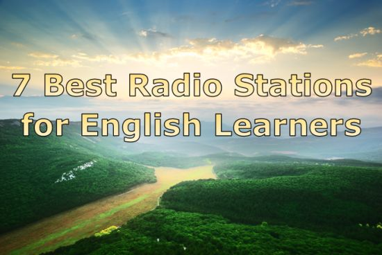 Best radio stations for English learners